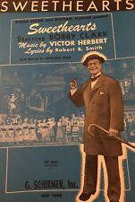 Bobby Clark Sweethearts Victor Herbert Robert Smith 1941 Vintage Sheet Music