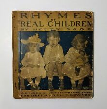 1903 Rhymes of Real Children by Betty Page, JESSIE WILLCOX SMITH Color Illust