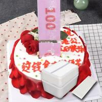 Funny Toy Box Cake Money Props Making Surprise For Birthday Cake Banquet Party