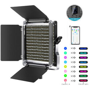 Neewer Pro 528 LED Video Light Dimmable Bi-Color Photography LED Lighting Kit
