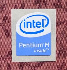 Intel Pentium M Inside Sticker 16 x 20mm Case Badge USA Seller