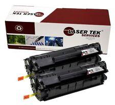 2pk Laser Tek Services Compatible Cartridges for HP Q2612X LaserJet 1012 1018