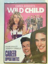Wild Child & Career Opportunities (2 Film DVD)(NEW) Emma Roberts