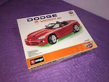 BBURAGO BURAGO DODGE VIPER SRT10 SRT 10 spider speedster collezione 1/18 rosso
