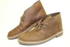 Clarks 26082286 Bushacre 2 Mens 10 M 43 Leather Chukka Ankle Boots