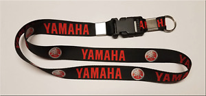 "YAMAHA RED 14"" KEY LANYARD KEY CHAIN KEY HOLDER MOTORCYCLE WAVE RUNNER"