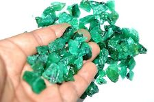 2270 Ct or 1 lbs Earth Mined Rare Green Emerald Zambian Rough Lot Loose Gemstone