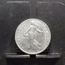 CIRCULATED 1977 1/2 FRANC FRENCH COIN (90317)1