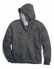 Champion Hoodie Men's Full Zip Fleece Sweatshirt Big & Tall Two-ply Hood Pockets