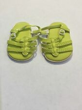 2010 American Girl Doll Lanie Garden Outfit Sandals Shoes ONLY Retired