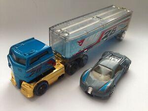 Hot Wheels Truck LKW - Bugatti Veyron 2002  Rare - Original Set