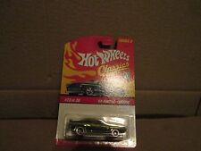 Hot Wheels CLASSICS '69 Pontiac Firebird spectraflame GREEN chrome 1:64 1969 #23