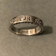 Chrome Hearts Forever Ring, Size 10 Stainless Steel
