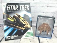 More details for eaglemoss collections star trek magazine issue 30 & nausicaan fighter model
