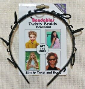 Localoc Twisty Braids Headband Simply Twist and Hook&get the Look Free Shipping!