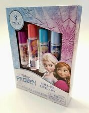 Disney Frozen Roll-On Lip Gloss 8 Pack Set For Ages 5+