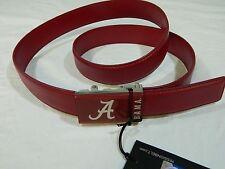 New NCAA Mission Belt Alabama Crimson Tide Crimson Color Size 40 Mens Adjustable