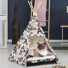 Portable mascota Tipi Carpa Plegable Gato Cama Casa De Perro perreras Cojín Lavable