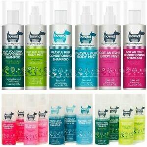Hownd Dog  Conditioning Shampoo &  Body Mist 250 ml. Brand New