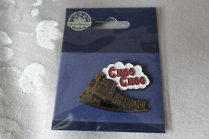 Alton Towers theme park Choo Choo mine train pin badge Merlin
