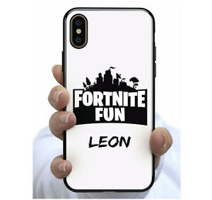 Fortnite FUN Personalised Name  Phone Case Cover for Apple iPhone Samsung  #38