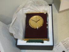 Vintage Quartz Analog Clock Never Used New in the Box Carraige Type Mantel Clock