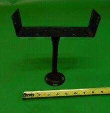 "6.5"" FLEXIBLE HEAVY-DUTY METAL GOOSE-NECK ARM MOUNT with radio mount"