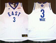 Dwyane Wade Miami Heat Adidas 2016 NBA All Star Game Swingman Jersey Size 2XL