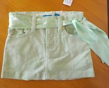 NWT The Children's place green skirt 24m stretch
