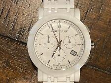 BURBERRY BU1770 Swiss Made Ceramic White Classic Women's Watch