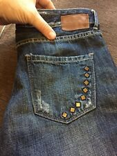 Converse one star jeans women straight leg size 8.