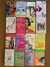 Lot of (16) Contemporary Romance Novels Paperback Books Female Romantic Comedy