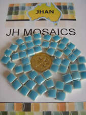 "100pcs Mini Mosaic Tiles LIGHT BLUE 3/8"" stock in US"