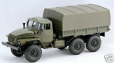 1/43 diecast russian soviet military truck URAL 4320 with tent USSR CCCP NIB