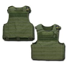 Green Tactical Plate Carrier Modular Operator MOLLE Military Police SWAT Vest