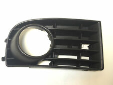 VW Golf  5 MK5 V 2003-2008  front bumper lower grille with fog lights hole RIGHT