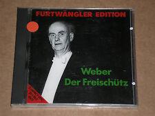 CARL MARIA VON WEBER - DER FREISCHÜTZ (CONDUCTED BY WILHELM FURTWÄNGLER) - CD