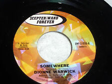 Dionne Warwick: Somewhere / The Beginning of Loneliness  [Unplayed Copy]