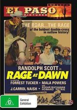 Rage At Dawn (DVD, 2011) El Paso - Randolph Scott *New & Sealed* Region 4