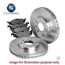 FOR HONDA FRV 1.7i VTEC 5/2007  NEW REAR BRAKE DISCS SET + DISC PADS KIT