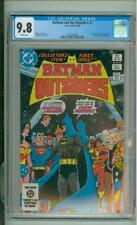 Batman And The Outsiders #1 9.8 CGC 2nd App Of The Outsiders 1983