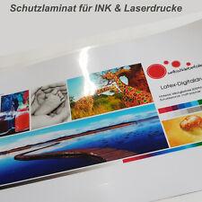 Schutzlaminat Laminierfolie für Drucke und beschichtete Papiere - DIN A4 -