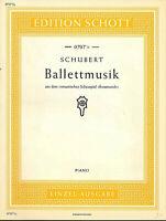 "SCHUBERT : "" Ballettmusik "" aus dem romantischen Schauspiel "" Rosamunde """