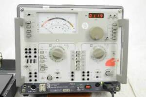 Wandel & Goltermann, PMG-2 NF-Messkoffer 15Hz-20kHz, Pegelmesser, Pegelsender
