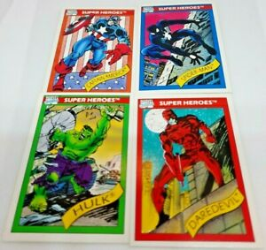 1990 Marvel Universe set of 160 cards+checklist - Great Condition!