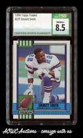 1990 Topps Traded #27T - Emmitt Smith RC (Dallas Cowboys) - CSG NM/Mint+ 8.5