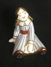 Royal Crown Derby - Treasures of Childhood - Rag Doll - Paperweight - Figurine