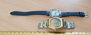 2 x Bulova automatic mens watches - Repair or Spares