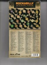 ROCKABILLY: RED HOT & RARE V1 -VAR (4CD) NEW REED GARO LOREN DAMRON PIKE LAWSON