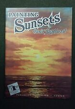 How To Draw Paint Flowers Animals Sunsets Clowns Sea Landscapes Trees Water USA